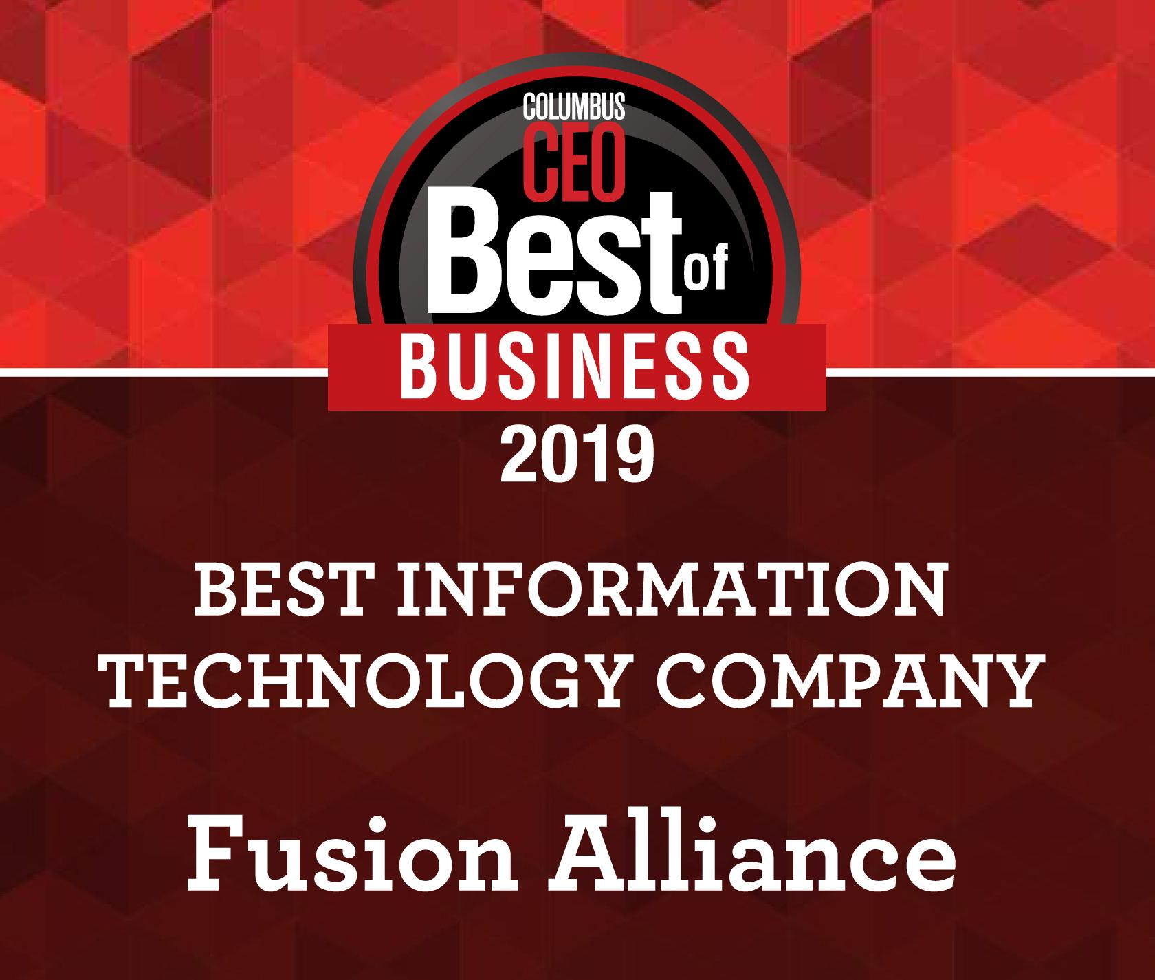 Columbus CEO's Best of Business | Best Information Technology Company