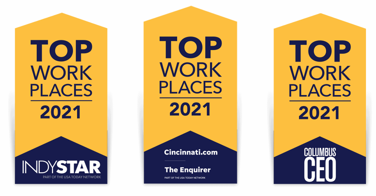 Proud to be a Top Workplace for 2021