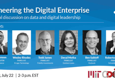 Join us at the 2021 MIT Chief Data Officer and Information Quality Symposium